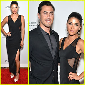Jessica Szohr & Scotty McKnight Make First Red Carpet Appearance at Los Angeles Ballet Gala 2015