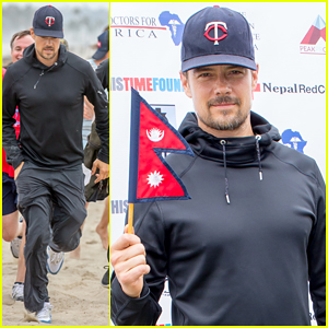Josh Duhamel Hosts Relief Run To Raise Funds For Nepal Victims!