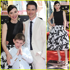 Julianna Margulies Honored With Hollywood Walk of Fame Star