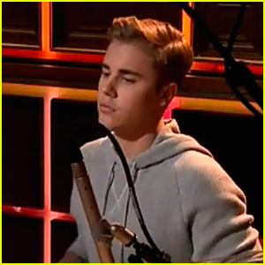 Justin Bieber Is Surprise Drummer on 'Late Late Show With James Corden' - Watch Now!