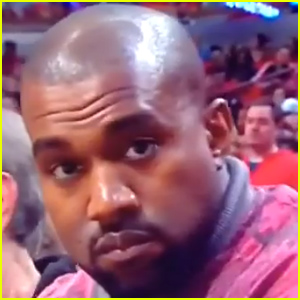 Kanye West Quickly Changes His Expression In Front of the Camera - Watch Now!