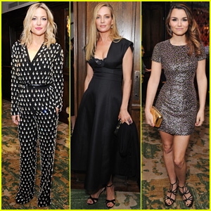 Kate Hudson & Uma Thurman Attend 'Icons of Style Dinner'