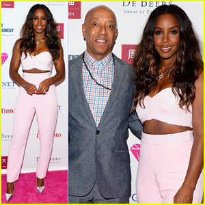 Kelly Rowland Is Pretty In Pink In Vegas for the Diamonds in the Sky Gala 2015!