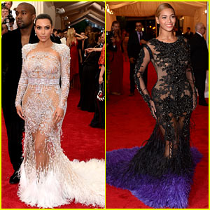 Kim Kardashian Accused of Copying Beyonce's Met Gala Dress