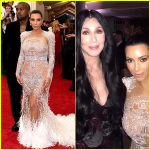 Kim Kardashian's Met Gala 2015 Dress Was Inspired by Cher