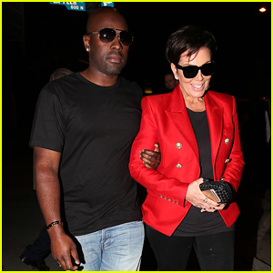 Kris Jenner & Corey Gamble Walk Arm-in-Arm for Dinner Date