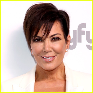 Kris Jenner Jumps for