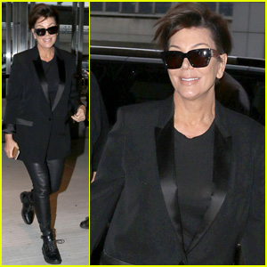 Kris Jenner Heads Home From East Coast Met Gala Trip