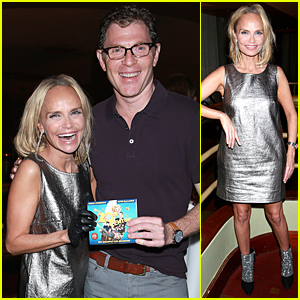Kristin Chenoweth Makes Flashy Entrance at 'On the Twentieth Century' Listening Party