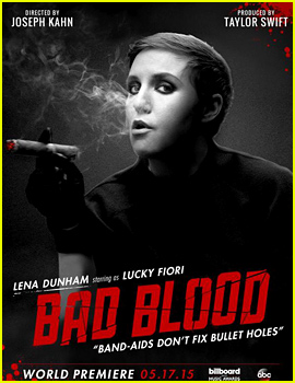 Lena Dunham Revealed For Taylor Swift's 'Bad Blood' Video!