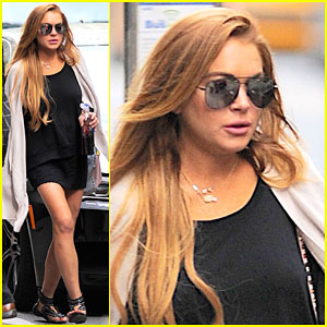 Lindsay Lohan Gets Some Gardening Done For Community Service