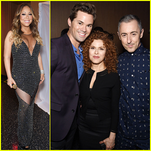 Mariah Carey, Andrew Rannells & More Celebrate Opening of New York's One World Observatory!