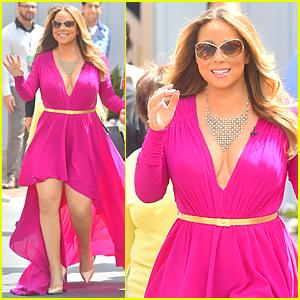 Mariah Carey Gets Las Vegas Advice From Celine Dion