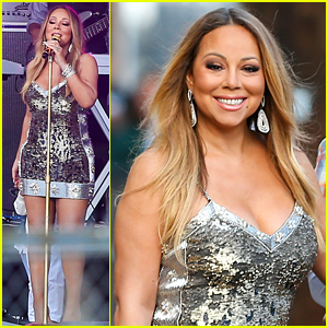 Mariah Carey Slays 'Vision of Love' & 'Infinity' on 'Jimmy Kimmel' - Watch Now!