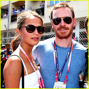 Michael fassbender photos news and videos just jared for Garage infiniti cannes