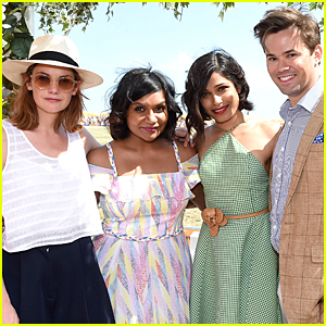 Mindy Kaling & Freida Pinto Look Like BFFs at Veuve Clicquot Polo Classic