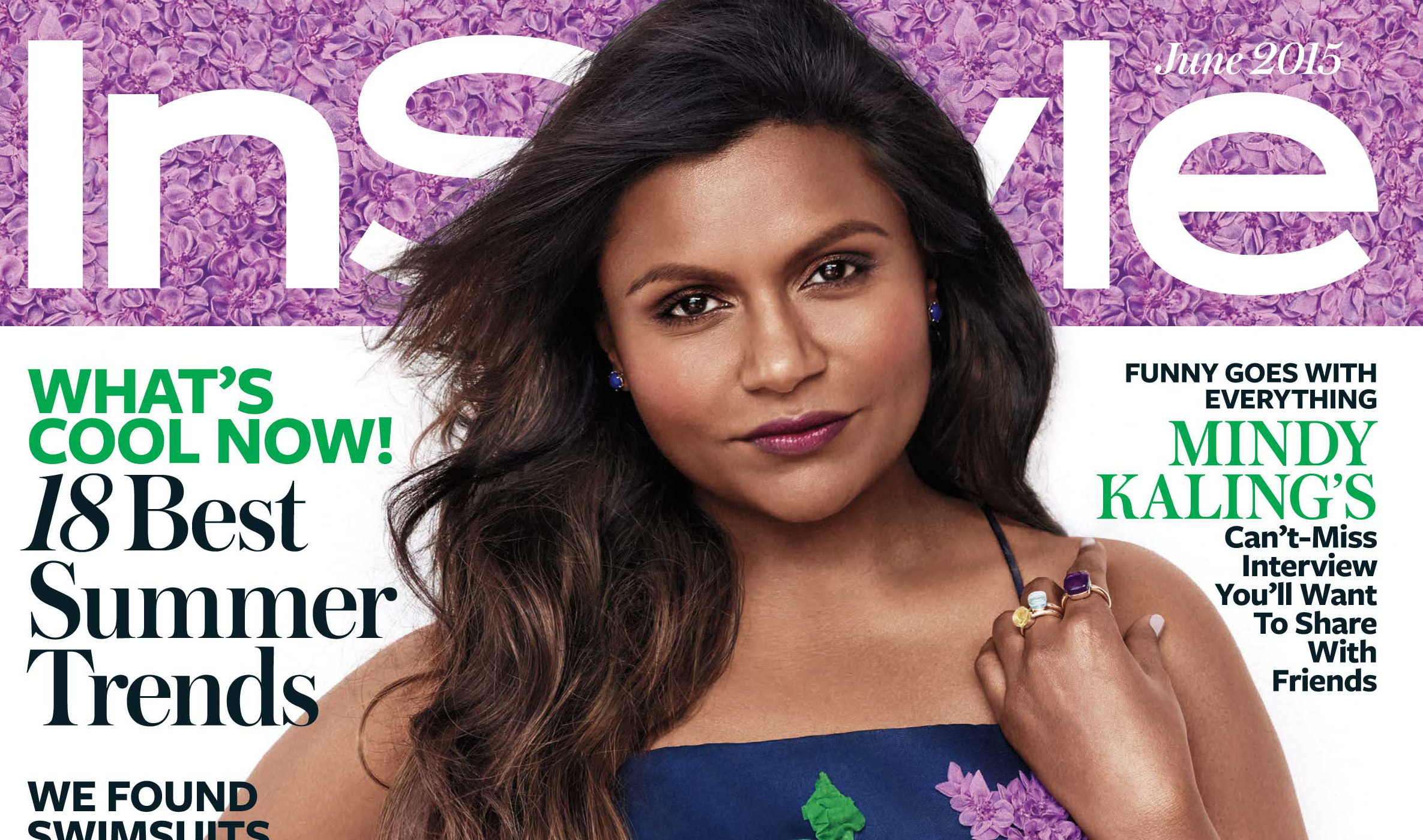Mindy Kaling Talks Marriage & Kids in InStyle's June 2015 Issue ...