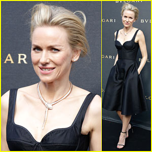 Naomi Watts Brings Her Fashion A-Game to Bulgari Opening