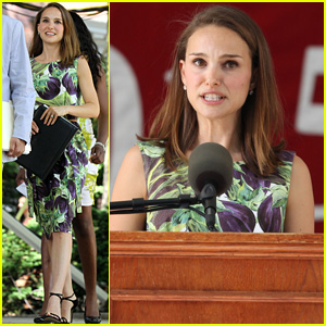 Watch Natalie Portman Speak to Harvard Graduates (Video)