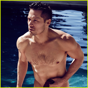 Revenge's Nick Wechsler Goes Nearly Naked In Sexy 'Cosmopolitan UK' Photo