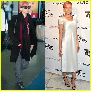 Nicole Richie Hits NYC for FIT's Future Of Fashion Runway Show