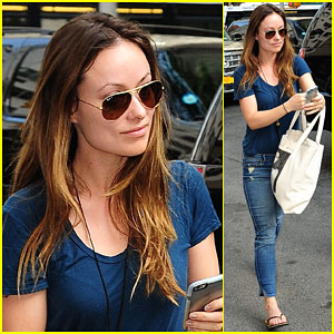 Olivia Wilde Makes Casual Look Cool While Out in NYC