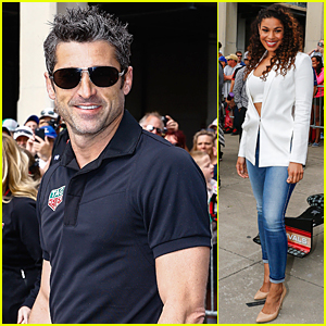 Patrick Dempsey & Jordin Sparks Get Hearts Racing at Indy 500