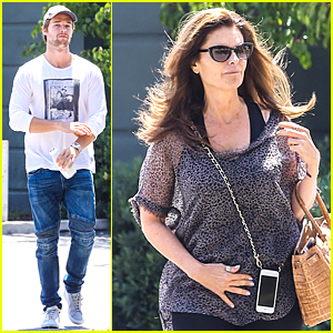 Patrick Schwarzenegger & Maria Shriver Bond Over Tavern Lunch
