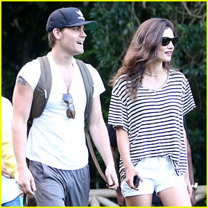 Paul Wesley & Phoebe Tonkin Look So Cute Together in Rio!