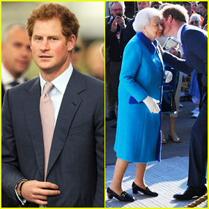 Prince Harry Presents Chelsea Flower Show to Queen Elizabeth!