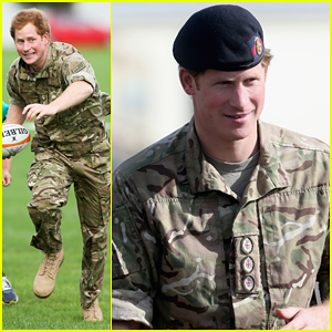Prince Harry Rocks Uniform to Play Touch Rugby with Kids in New Zealand!