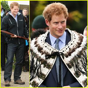 Prince Harry Welcomed Into Putiki Marae Comittee in New Zealand!