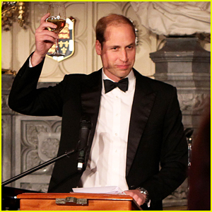 Prince William Celebrates Tusk Trust's 25th Anniversary at the Queen's Castle!