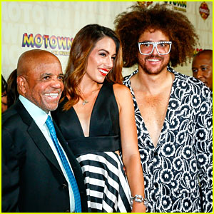 Redfoo Supports Dad Berry Gordy at 'Motown' L.A. Opening!