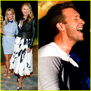Reese Witherspoon & Chris Martin Are Champions in Schools