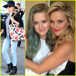 Reese Witherspoon and her daughter