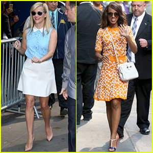 Reese Witherspoon & Kerry Washington Keep Busy Before the Met Gala 2015!