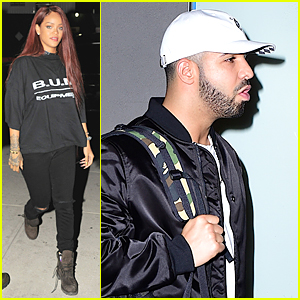 Rihanna & Drake Hit Recording Studio Together For Possible Collaboration?