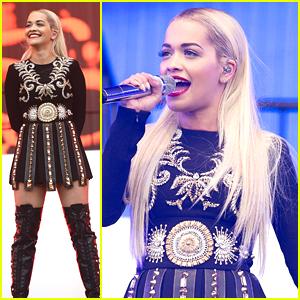 Rita Ora Brings 'Poison' To Radio 1's Big Weekend