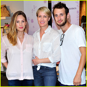 robin wright kids
