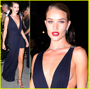 Rosie Huntington-Whiteley Brings Glamour to the Met Gala 2015 After Party!