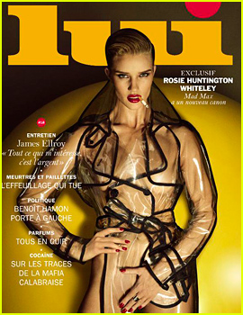 Rosie Huntington-Whiteley Bares It All For Nude 'Lui' Spread
