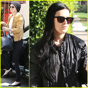 Rumer Willis Reunites With Val Chmerkovskiy For 'Sway' Rehearsals