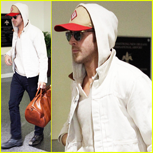 Ryan Gosling Continues Work On 'The Big Short' in New Orleans!