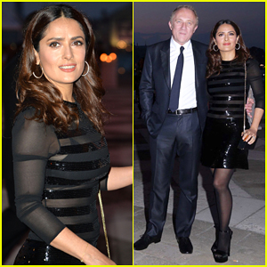 Salma Hayek Opens Up About Her Skin Care Secret: 'I Have No Botox'!