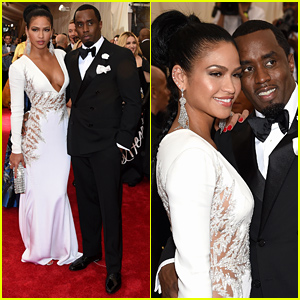 Diddy & Cassie Hit the Met Gala 2015 After Releasing Their NSFW Sex Video