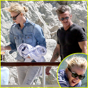 Charlize Theron & Sean Penn Enjoy Ocean View in Cannes With Pal Naomi Watts