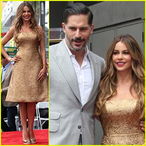 Sofia Vergara Gets Major Support From Joe Manganiello & 'Modern Family' Cast at Hollywood Walk of Fame Ceremony