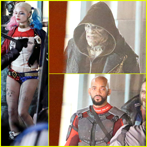 'Suicide Squad' Cast Seen on Set in Costume: Harley Quinn, Deadshot & More!