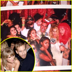 Taylor Swift Throws a Billboard Music Awards 2015 Party with Calvin Harris By Her Side!